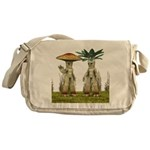 Lovable Vegetables - Waving Messenger Bag
