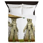 Lovable Vegetables - Waving Queen Duvet