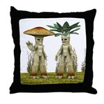 Lovable Vegetables - Waving Throw Pillow
