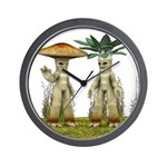 Lovable Vegetables - Waving Wall Clock