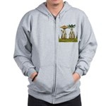 Lovable Vegetables - Waving Zip Hoodie