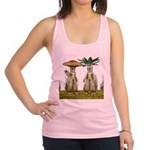 Lovable Vegetables - Waving Racerback Tank Top