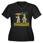 Lovable Vegetables - Waving Plus Size T-Shirt