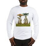 Lovable Vegetables - Waving Long Sleeve T-Shirt