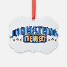 The Great Johnathon Ornament