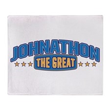 The Great Johnathon Throw Blanket