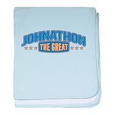 The Great Johnathon baby blanket