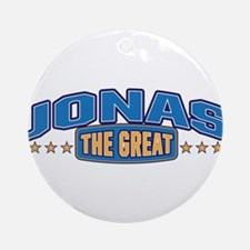 The Great Jonas Ornament (Round)