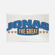 The Great Jonas Rectangle Magnet