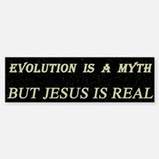The Evolution Myth Bumper Bumper Bumper Sticker