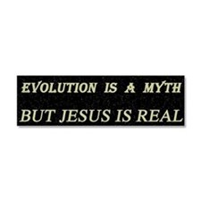 The Evolution Myth Car Magnet