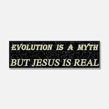 The Evolution Myth Car Magnet