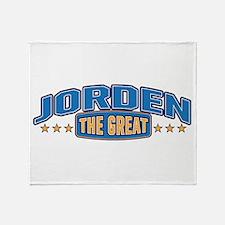 The Great Jorden Throw Blanket