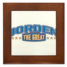 The Great Jorden Framed Tile
