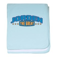 The Great Jorden baby blanket