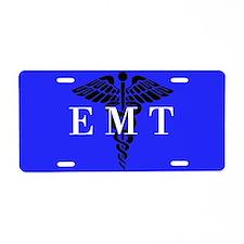 EMT Aluminum License Plate