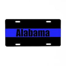 Alabama Poice Aluminum License Plate