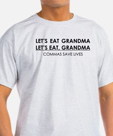 LETS EAT GRANDMA COMMAS SAVE LIVES T-Shirt