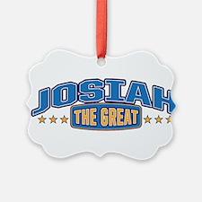 The Great Josiah Ornament