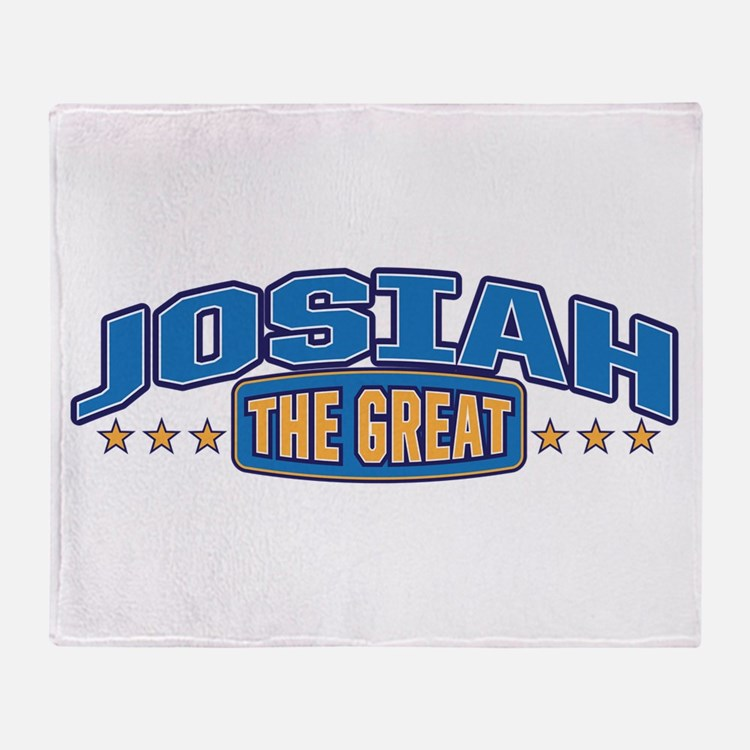 The Great Josiah Throw Blanket