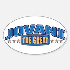 The Great Jovani Decal