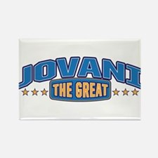 The Great Jovani Rectangle Magnet