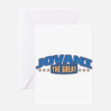 The Great Jovani Greeting Card