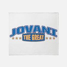The Great Jovani Throw Blanket