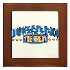 The Great Jovani Framed Tile