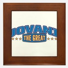 The Great Jovani Framed Tile
