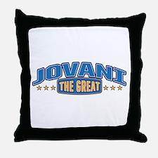 The Great Jovani Throw Pillow