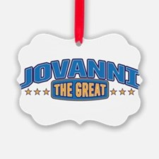 The Great Jovanni Ornament