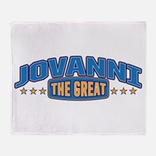 The Great Jovanni Throw Blanket