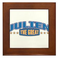 The Great Julien Framed Tile