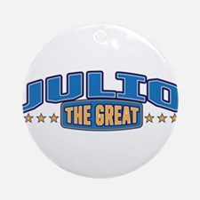 The Great Julio Ornament (Round)