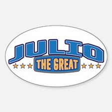 The Great Julio Decal
