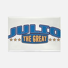 The Great Julio Rectangle Magnet