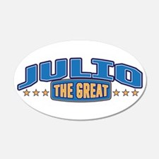 The Great Julio Wall Decal