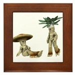 Lovable Vegetables - Talking Framed Tile