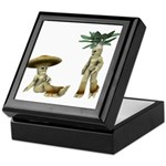 Lovable Vegetables - Talking Keepsake Box