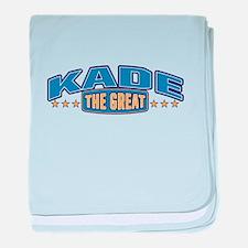 The Great Kade baby blanket
