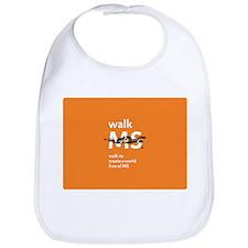 Orange- Walk MS Bib
