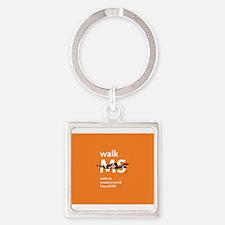 Orange- Walk MS Keychains
