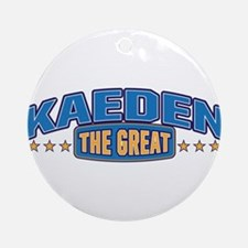 The Great Kaeden Ornament (Round)