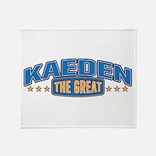 The Great Kaeden Throw Blanket
