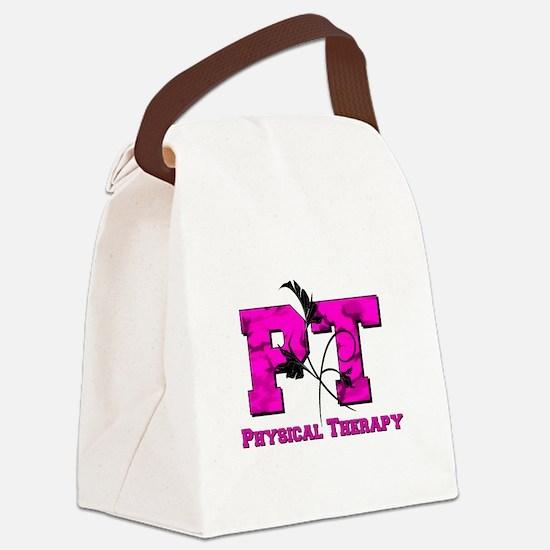 PT camo pink Canvas Lunch Bag