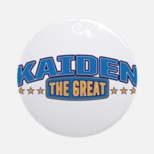 The Great Kaiden Ornament (Round)