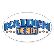The Great Kaiden Decal