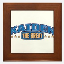 The Great Kaiden Framed Tile