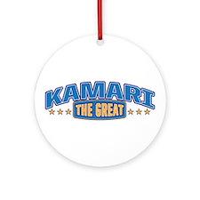 The Great Kamari Ornament (Round)